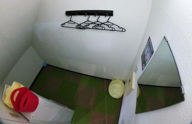 富山市二口町の接骨院プロデュースのセミパーソナルジム「ゆめたかトレーニングジム」の女子更衣室