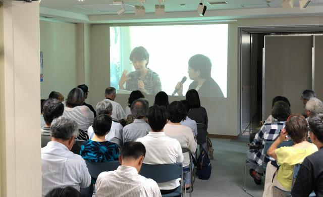 南砺市福光美術館で開催された「ヤマザキマリ トークショー」テーマは棟方志功