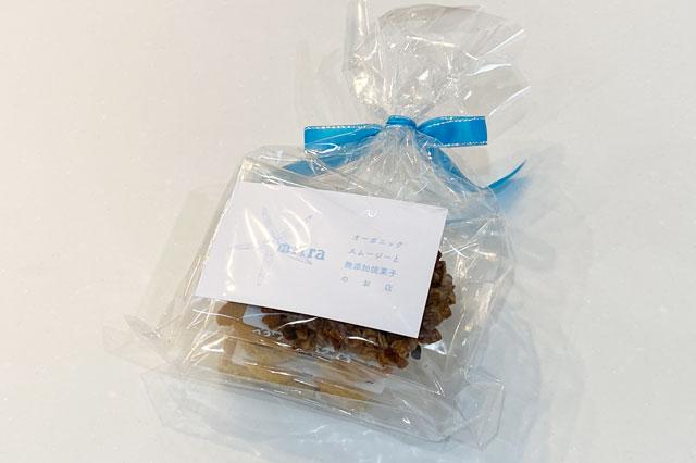富山市上二杉のミタホームのオープンハウスに行くと貰えるmitraの無添加の焼き菓子