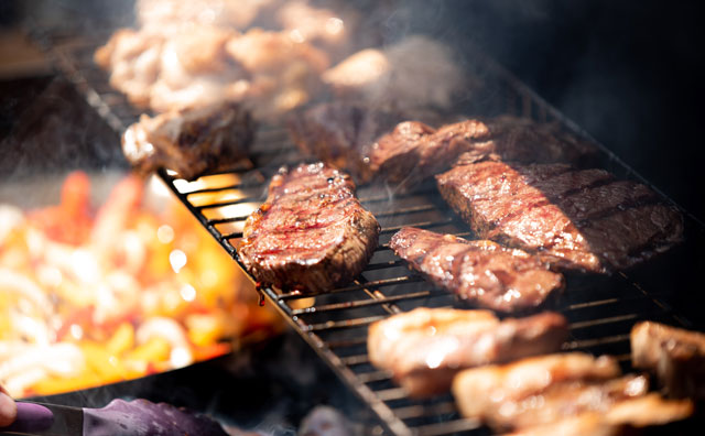BBQで約肉