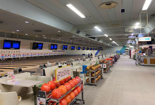 ノースランドボウル呉羽、ボーリング場