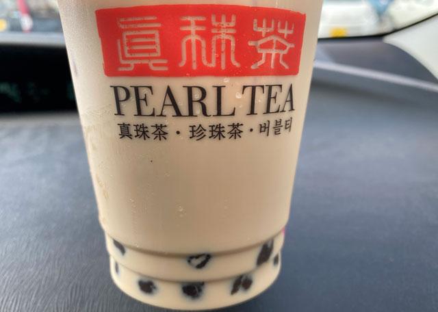 タピオカ専門店「PEARL TEA(パールティー)」MEGAドンキホーテUNY魚津店のタピオカの量