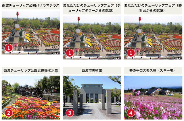富山県砺波市の観光スポットを映したライブカメラ
