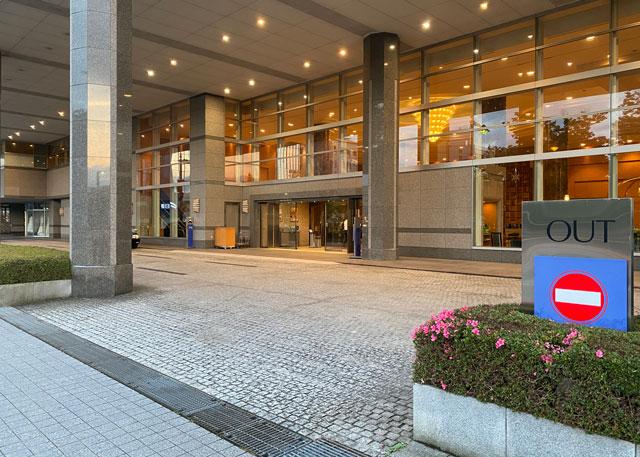 ANAクラウンプラザホテル富山の入り口