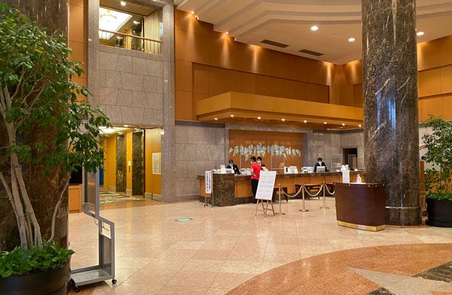 ANAクラウンプラザホテル富山のロビー