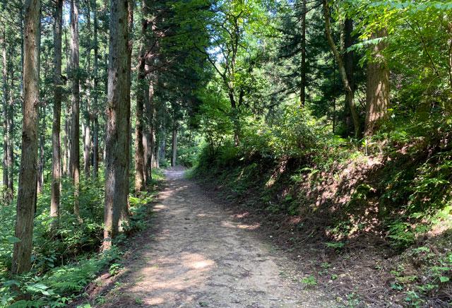 富山県上市町の「まま子滝」への道順4
