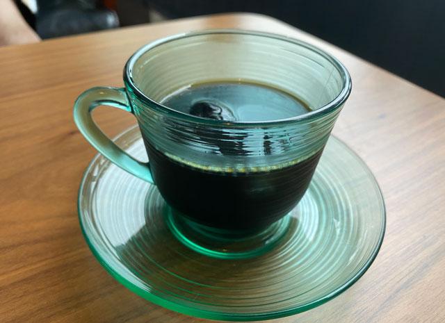 富山市呉羽城山のコワーキングスペース&カフェ「空の森」の水出しコーヒー