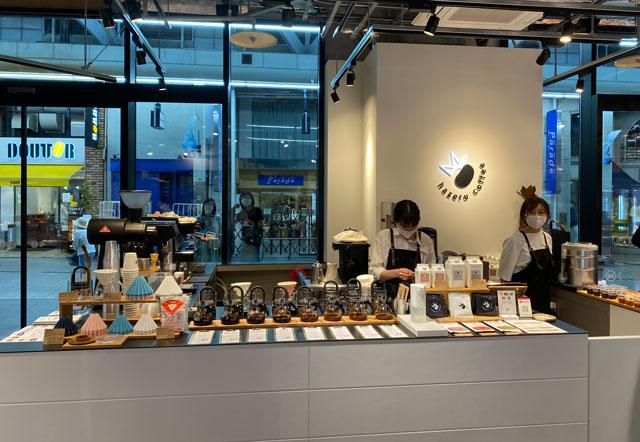 富山市の総曲輪ベース、hazeru coffee(ハゼルコーヒー)