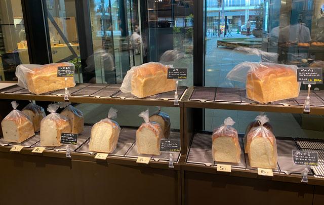 富山市の総曲輪ベース、パン屋さんBoulangerie Doyo(ブーランジェリー ドーヨー)の食パン
