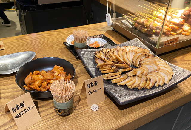 富山市の総曲輪ベース、Kミートの肉を実食
