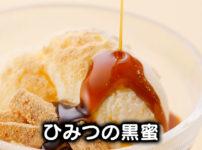 【ひみつの黒蜜】中尾清月堂の贅沢な和スイーツを食べてみた!