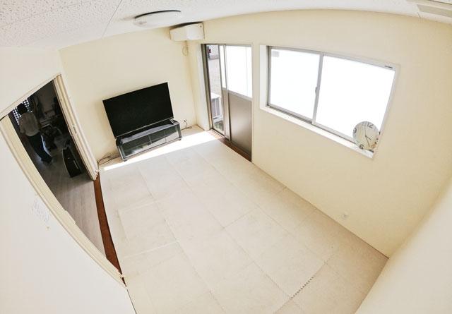 富山市のママスキーハウスのレンタルルーム