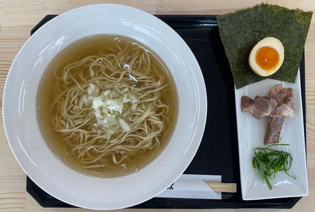 富山市旧大沢野の無添加無化調のラーメン屋「煮干しそば 銀」の煮干しそば