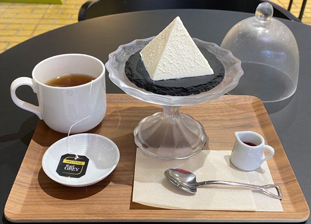 富山県黒部市宇奈月温泉街で人気の「アルペンチーズケーキ」の幻のアルペンチーズケーキセット