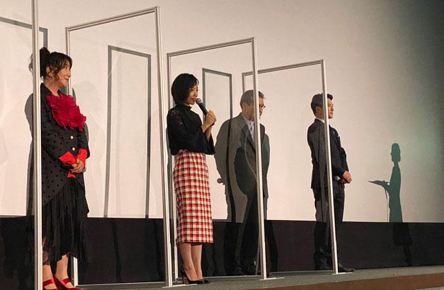 富山がロケ地の映画『大コメ騒動』の舞台挨拶、主演の井上真央さん