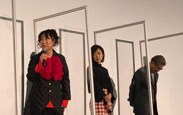 富山がロケ地の映画『大コメ騒動』の舞台挨拶、室井滋さん