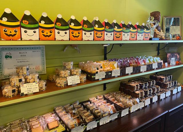 富山市の人気フランス菓子専門店「ムッシュ・ジー(monsieur J)」の焼き菓子