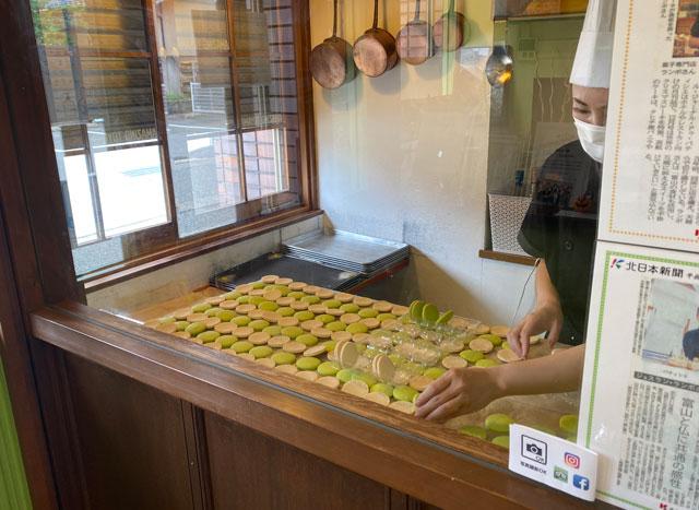 富山市の人気フランス菓子専門店「ムッシュ・ジー(monsieur J)」の作業場所