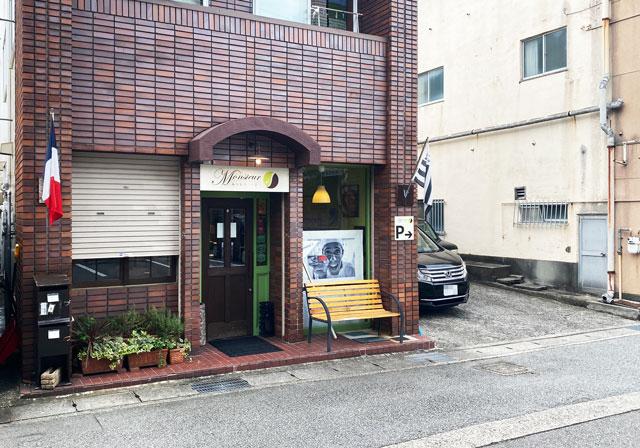 富山市の人気フランス菓子専門店「ムッシュ・ジー(monsieur J)」の店舗外観