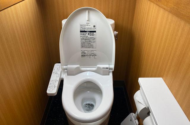 ラーメン山岡家 富山田尻店の綺麗なトイレ