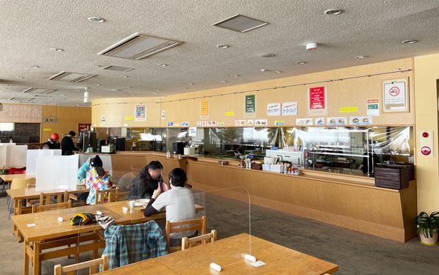 立山山麓スキー場(極楽坂)の食堂