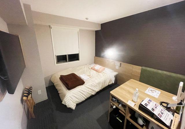 富山県富山市小杉、JR小杉駅徒歩1分のビジネスホテル「スーパーホテル」のレディースルーム
