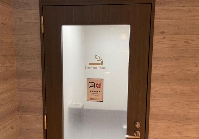 富山県富山市小杉、JR小杉駅徒歩1分のビジネスホテル「スーパーホテル」の喫煙室