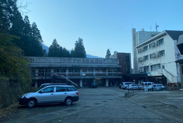 富山県黒部市宇奈月のスキー場「宇奈月スノーパーク」への道順
