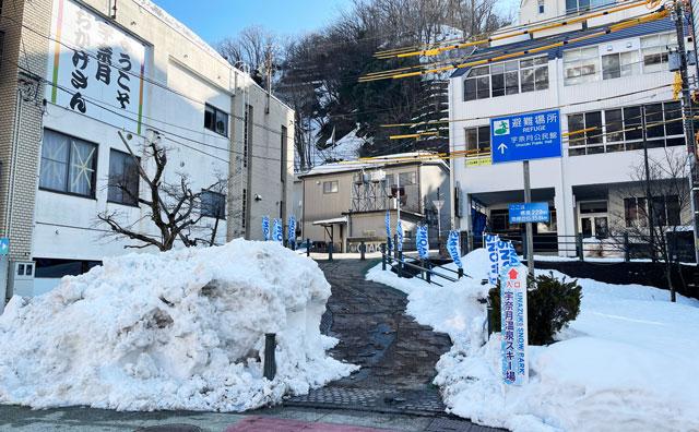 富山県黒部市宇奈月温泉のスキー場「宇奈月スノーパーク」への行き方1