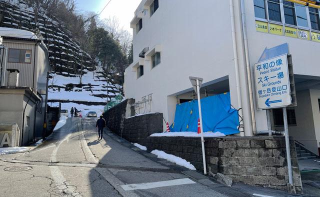富山県黒部市宇奈月温泉のスキー場「宇奈月スノーパーク」への行き方2