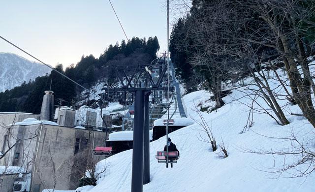 富山県黒部市宇奈月温泉のスキー場「宇奈月スノーパーク」への行き方4