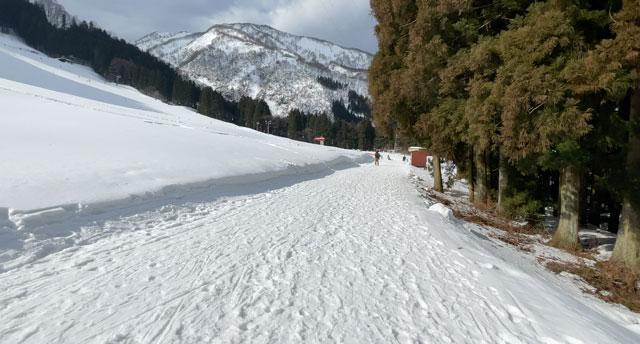 富山県黒部市宇奈月温泉のスキー場「宇奈月スノーパーク」への行き方6