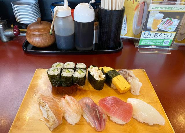 富山県の回転寿司「番やのすし」の公式HP