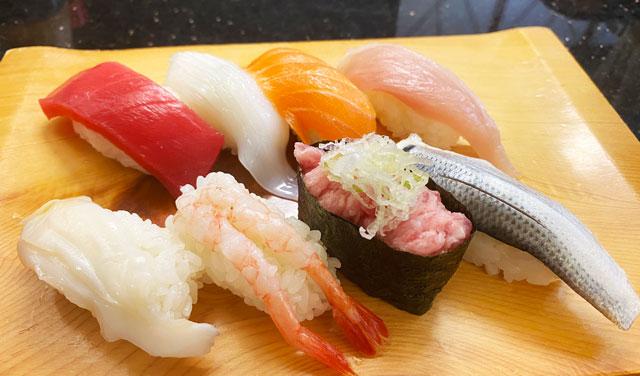 氷見きときと寿司 婦中有沢店の寿司