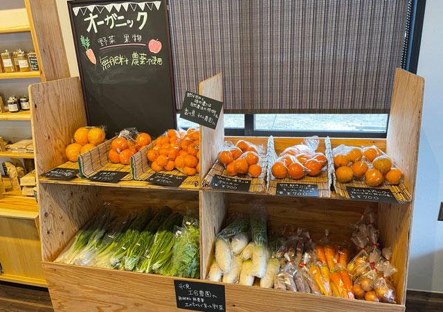 氷見牛屋横に移転リニューアルオープンした「精肉牛屋(せいにくぎゅうや)」の氷見土合農園のオーガニック野菜