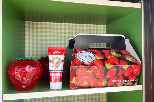 富山市のまちなかで苺狩りができる「徳徳ハウス」のギフト用の箱
