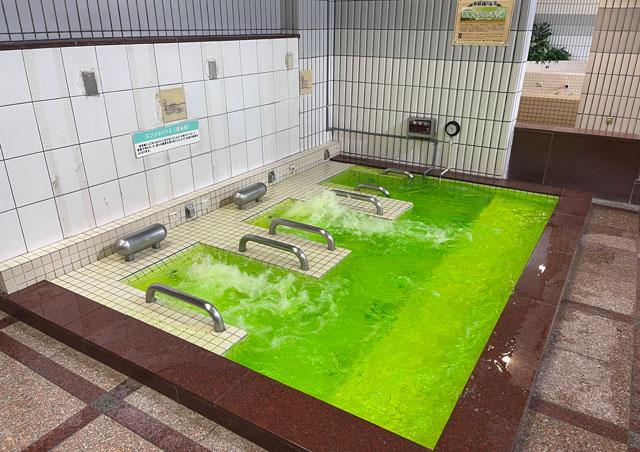 富山県高岡市の北陸健康センターアラピアの寝風呂