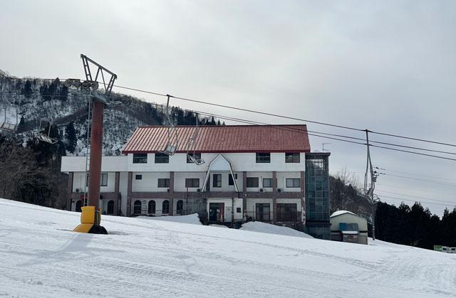 富山市立山山麓あわすのスキー場の松井山荘