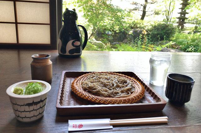 富山県砺波市のミシュラン掲載の蕎麦屋「福助(ふくすけ)」