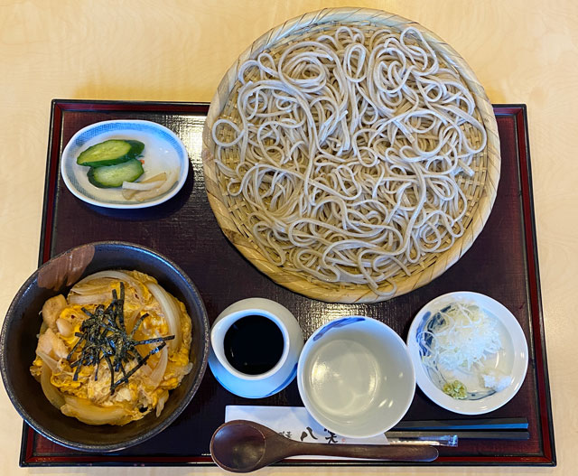 富山県上市町のミシュラン掲載の蕎麦屋「八笑(はっしょう)」