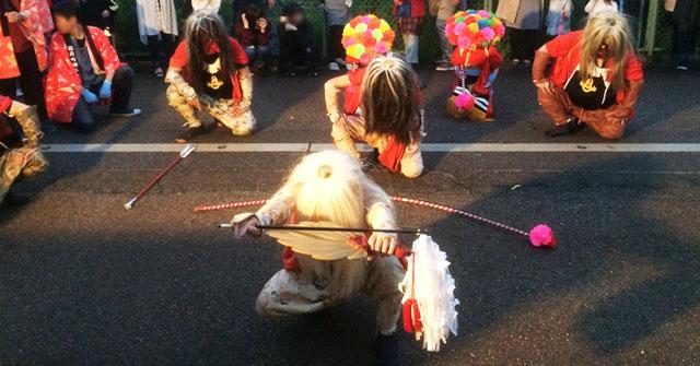 富山県射水市新湊の獅子舞
