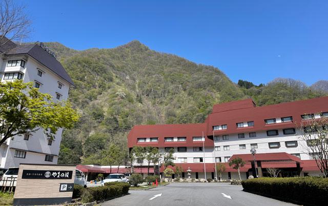 富山県黒部・宇奈月温泉やまのはの外観