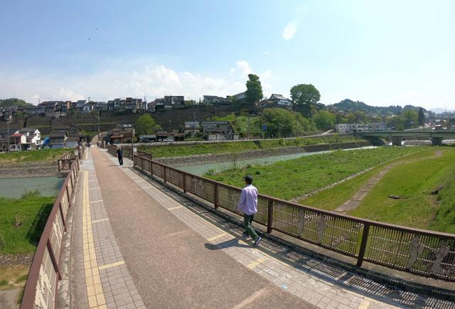富山県富山市の祭り「越中八尾曳山祭」の禅寺橋