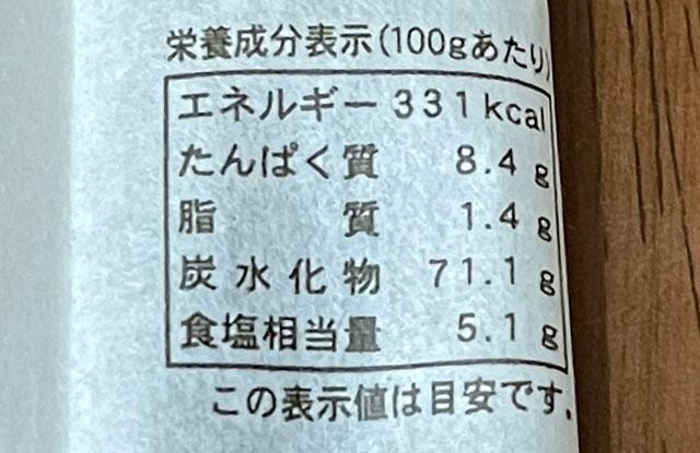 富山県氷見の特産品「氷見うどん」のカロリー