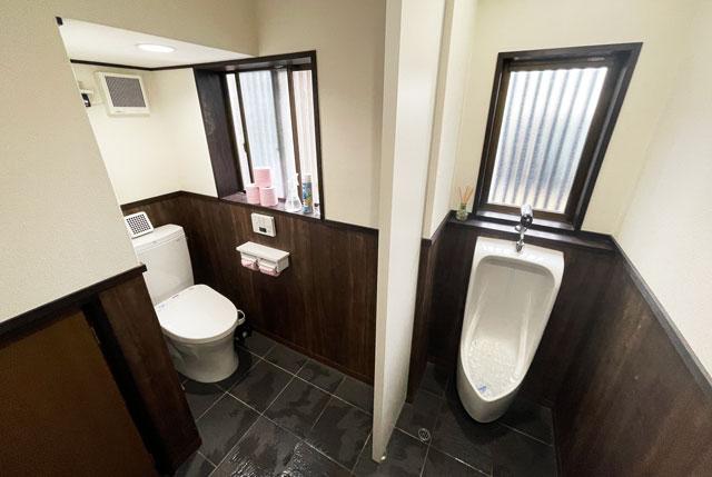 富山市のミシュラン一つ星の寿司屋「鮨人(すしじん)」のトイレ