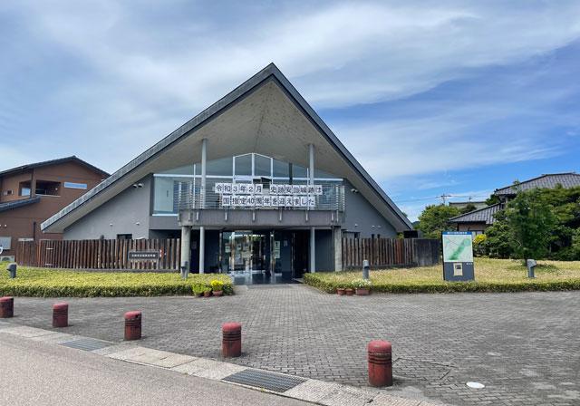 富山市婦中町の史跡安田城跡資料館