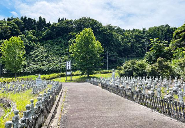 富山県高岡市の招福地蔵(ふくおかつくりもん祭り)の整備されたお地蔵さん
