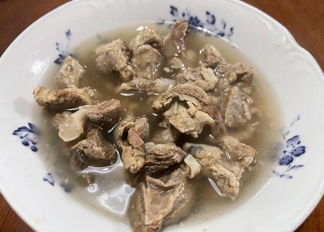 大人のもつ煮ふたば(富山県)の塩味のもつ煮