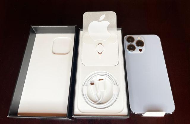iPhone13proの商品内容