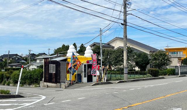 富山市呉羽北代のたこ焼き竜清丸の店舗外観